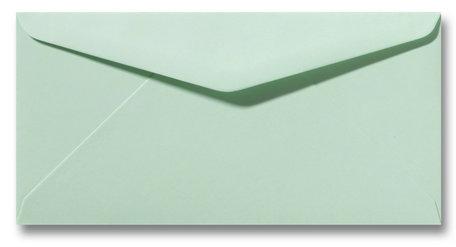 Envelop 11 x 22 cm lentegroen