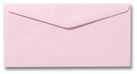 Envelop 11 x 22 cm Lichtroze