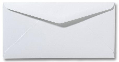 Envelop 11 x 22 cm Wit