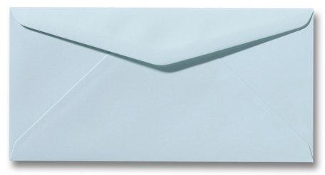 Envelop 11 x 22 cm Zachtblauw