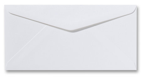 Envelop 11 x 22 cm Fiore  Wit