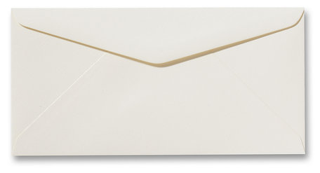 Envelop 11 x 22 cm Fiore Creme