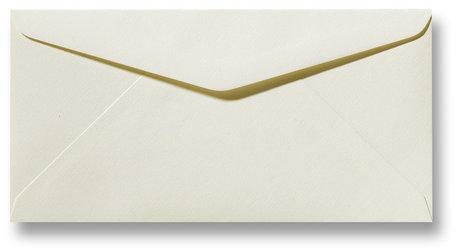 Envelop 11 x 22 cm Fiore Ivoor