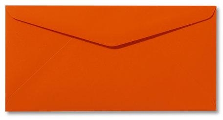 Envelop 11 x 22 cm Softskin Oranje