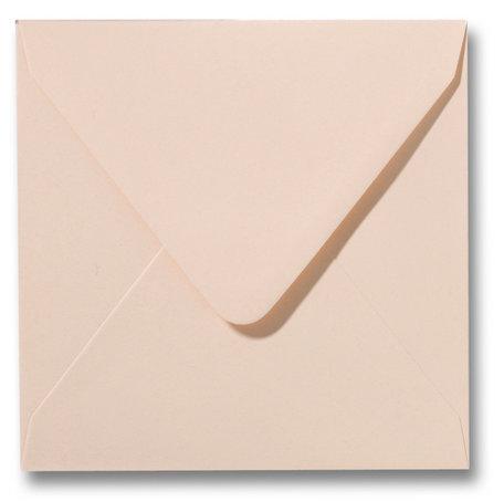 Envelop 12 x 12 cm Abrikoos