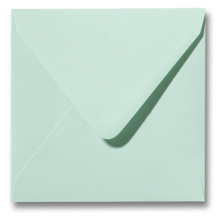 Envelop 12 x 12 cm Lentegroen
