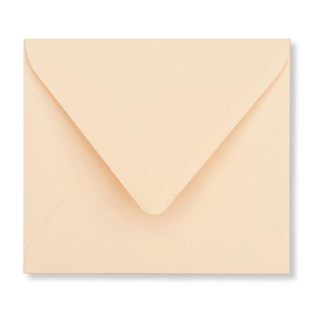 Envelop 12,5 x 14 cm Abrikoos
