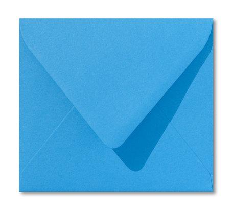 Envelop 12,5 x 14 cm Koningsblauw