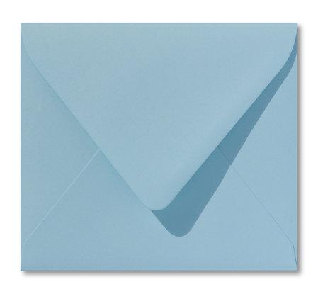 Envelop 12,5 x 14 cm Laguneblauw
