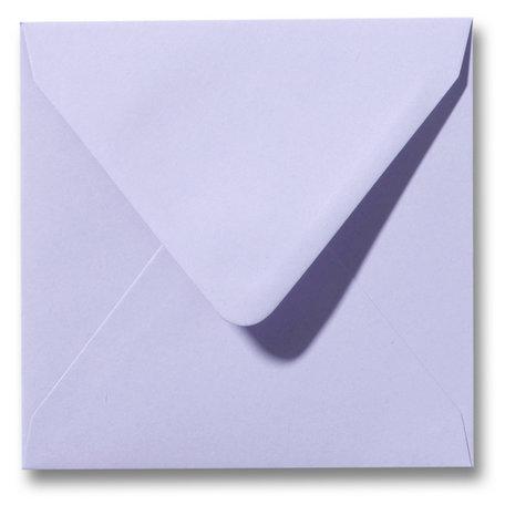 Envelop 12,5 x 14 cm Lavendel