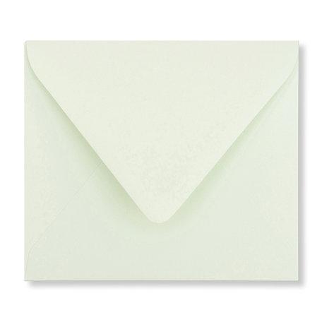 Envelop 12,5 x 14 cm Lichtgroen