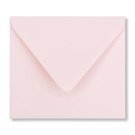 Envelop 12,5 x 14 cm Lichtroze