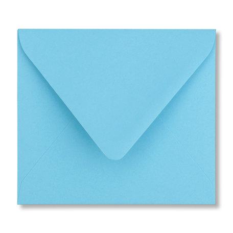 Envelop 12,5 x 14 cm Oceaanblauw