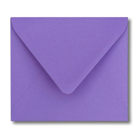 Envelop 12,5 x 14 cm Paars