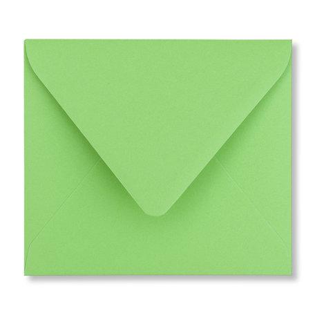 Envelop 12,5 x 14 cm Weidegroen