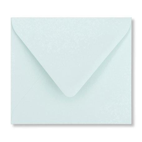 Envelop 12,5 x 14 cm Zachtblauw