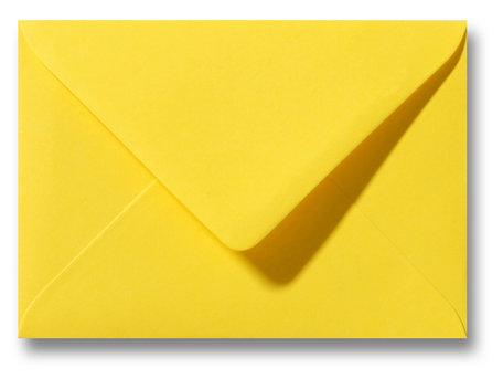 Envelop 12 x 18 cm Boterbloemgeel