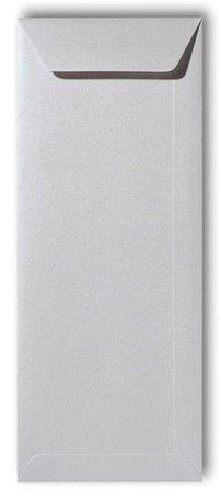 Envelop 12,5 x 31,2 cm Metallic Platinum