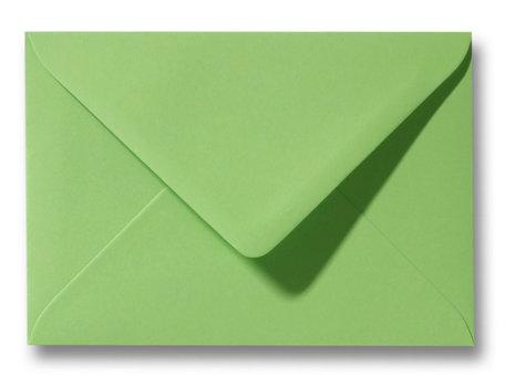 Envelop 13 x 18 cm Appelgroen