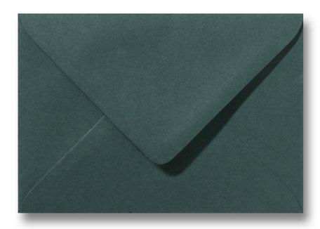 Envelop 13 x 18 cm Donkergroen