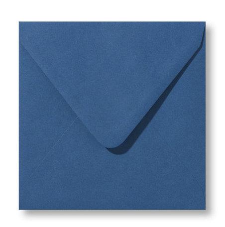 Envelop 14 x 14 cm Donkerblauw
