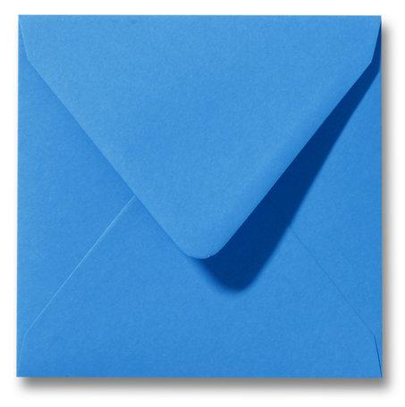 Envelop 14 x 14 cm Koningsblauw