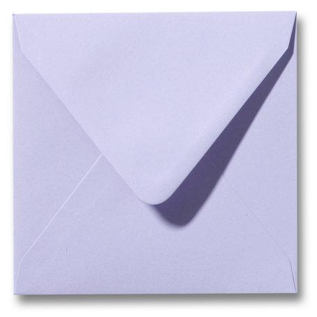 Envelop 14 x 14 cm Lavendel