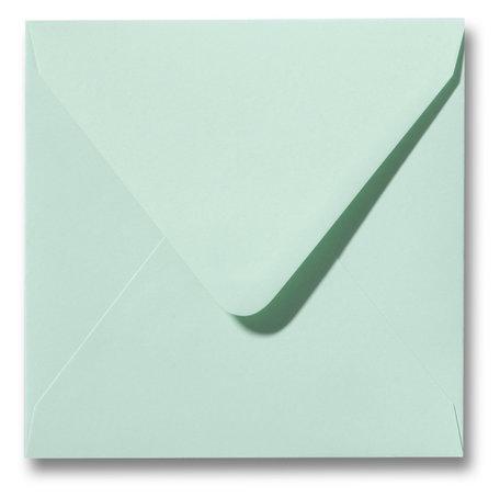 Envelop 14 x 14 cm Lentegroen