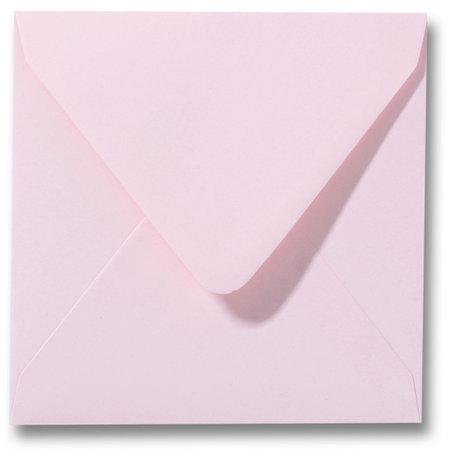 Envelop 14 x 14 cm Lichtroze