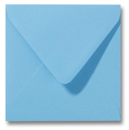 Envelop 14 x 14 cm Oceaanblauw