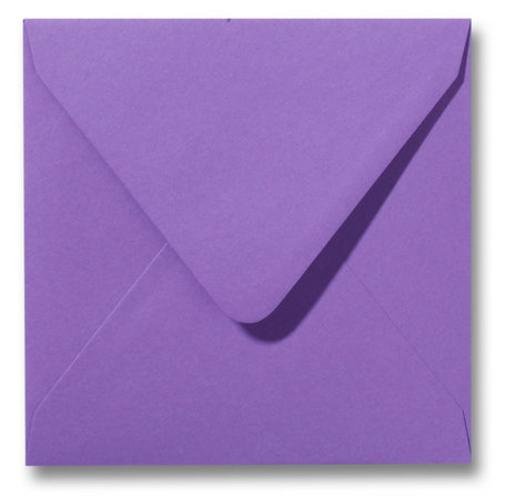 Envelop 14 x 14 cm Paars