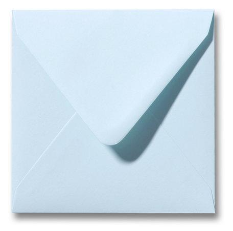 Envelop 14 x 14 cm Zachtblauw