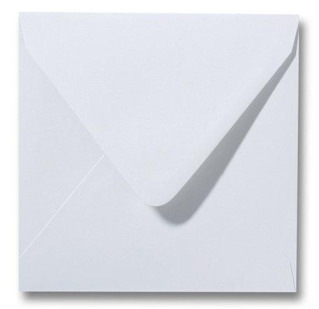 Envelop 14 x 14 cm Zilvergrijs