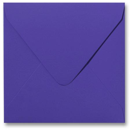 Envelop 14 x 14 cm Softskin Lavendel