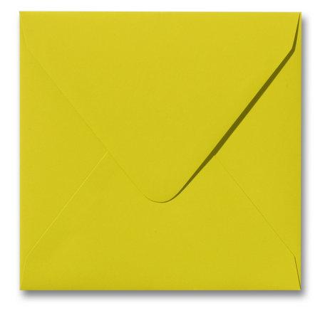 Envelop 14 x 14 cm Softskin Lime