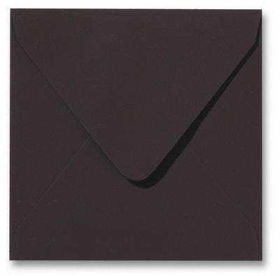 Envelop 14 x 14 cm Softskin Mokka
