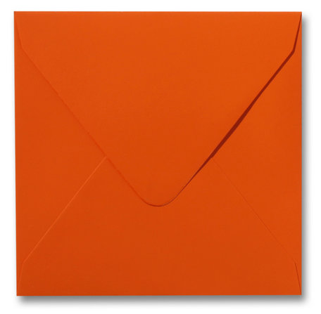 Envelop 14 x 14 cm Softskin Orange