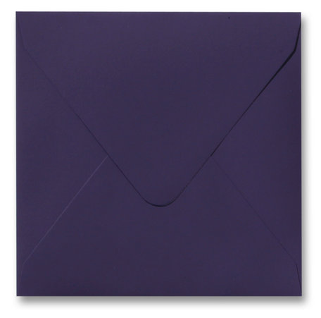 Envelop 14 x 14 cm Softskin Violet