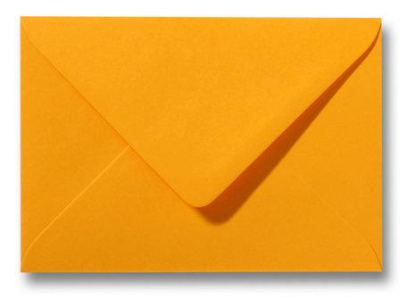 Envelop 15,6 x 22 cm Goudgeel