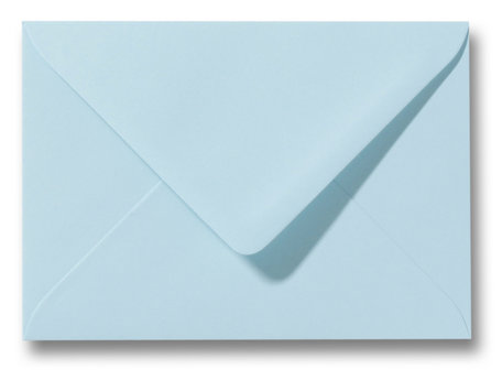 Envelop 15,6 x 22 cm Laguneblauw