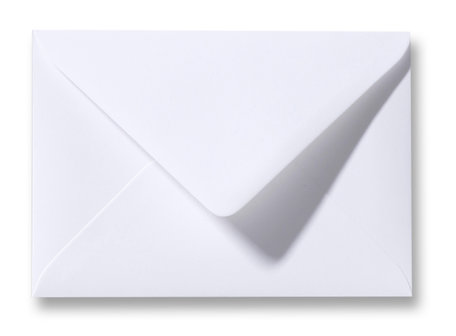 Envelop 15.6 x 22 cm Wit