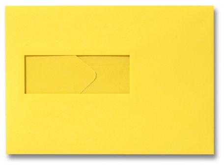 Envelop 15,6 x 22 cm Boterbloemgeel venster