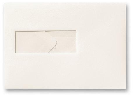 Envelop 15,6 x 22 cm Ivoor venster