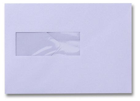 Envelop 15,6 x 22 cm Lavendel venster