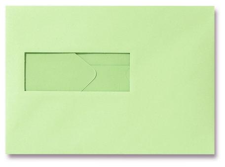 Envelop 15,6 x 22 cm Lentegroen venster