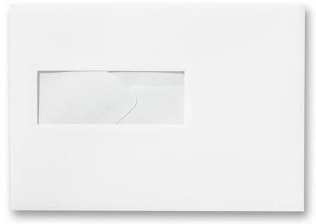Envelop 15.6 x 22 cm Wit venster