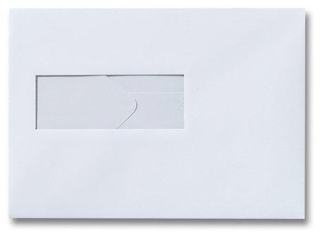 Envelop 15.6 x 22 cm Zilvergrijs venster