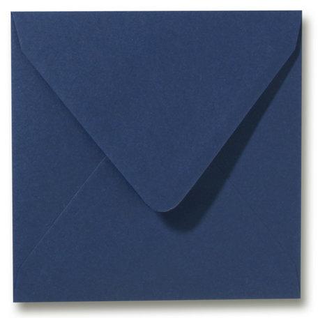 Envelop 16 x 16 cm Donkerblauw