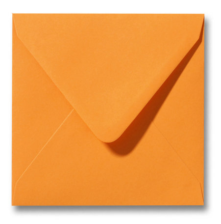 Envelop 16 x 16 cm Feloranje