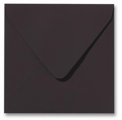 Envelop 16 x 16 cm Softskin Mokka